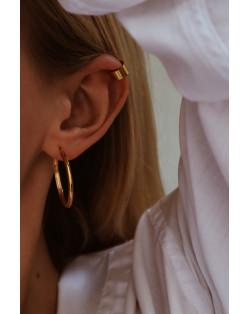 Złoty naszyjnik z rozetą