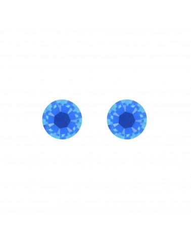 Srebrne kolczyki z kryształkami SWAROVSKI® CRYSTAL