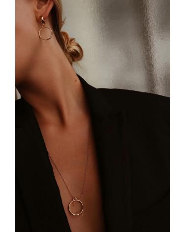 Srebrny naszjnik z grubą obręczą