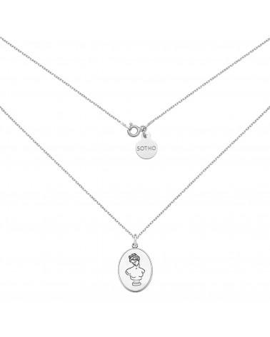 Srebrny medalion z Afrodytą