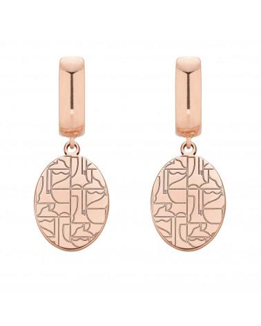 Kolczyki z różowego złota Art N°1