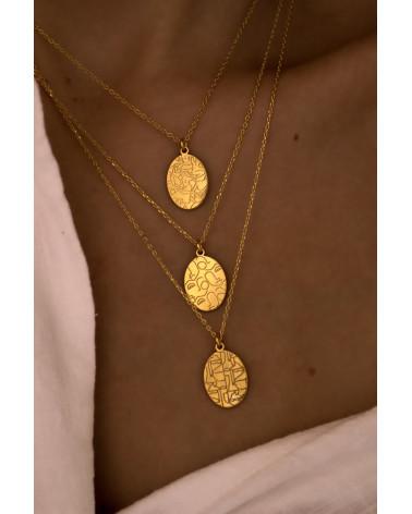 Złoty medalion Art N°2