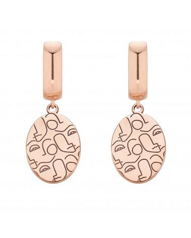 Kolczyki z różowego złota Art N°3