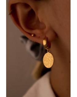 Bransoletka z opalizujących pereł SWAROVSKI® CRYSTAL z gwiazdką z różowego złota