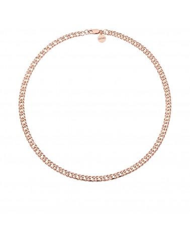 Masywny łańcuch z różowego złota
