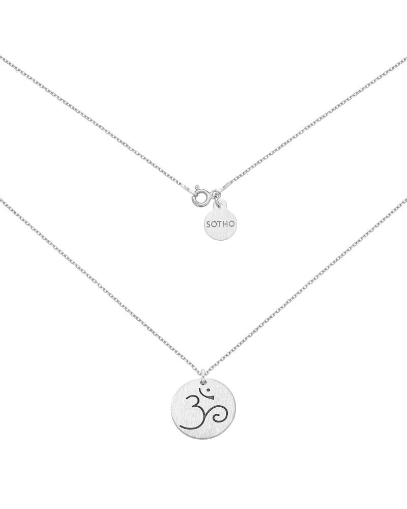 Srebrny naszyjnik z symbolem OM