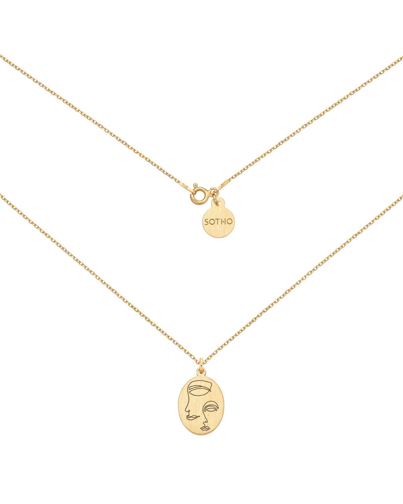 Złoty medalion Face N°7