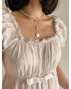 Srebrna bransoletka z rozetką i chwostem
