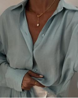 Srebrny naszyjnik z oponką