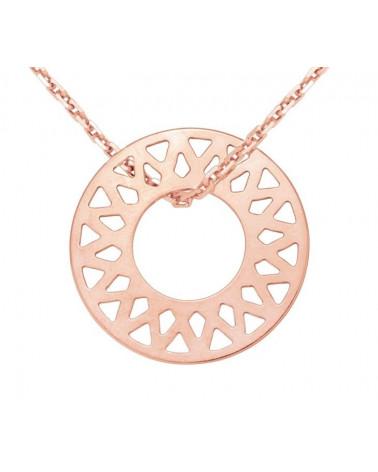 Bransoletka jasno różowa pastelowa marmur kryształowa czaszka Skull SWAROVSKI® ELEMENTS