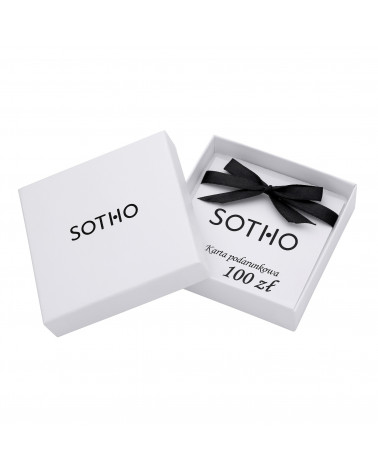 Karta podarunkowa SOTHO wartości 100 zł