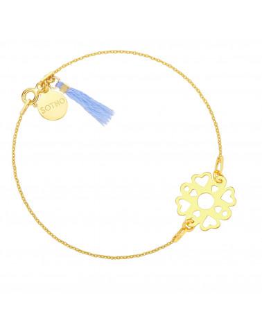 Kolczyki gwiazdki z różowego złota