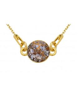 Bransoletka z kremowych opalizujących pereł SWAROVSKI® CRYSTAL ze złotą rozetką