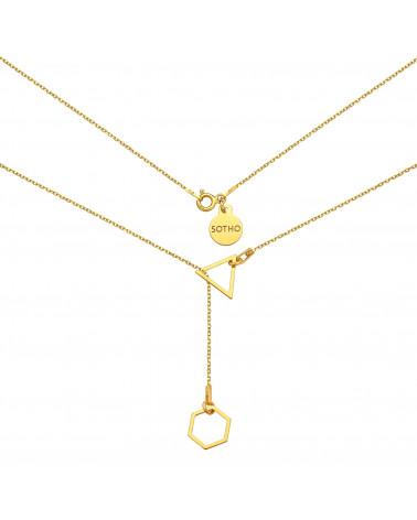 Różowa sznurkowa bransoletka z symbolem Karmy