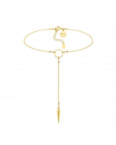Perłowa bransoletka z opalizujących pereł SWAROVSKI® CRYSTAL ze srebrną śnieżynką