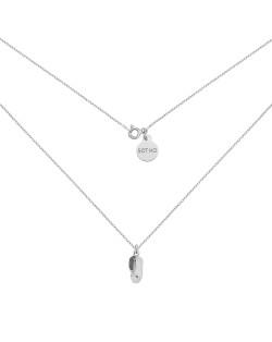 Perłowa bransoletka z pereł SWAROVSKI® CRYSTAL z ażurową gwiazdką z różowego złota