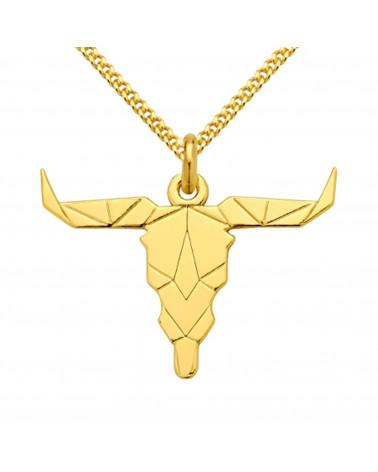 Srebrny męski naszyjnik pancerka z krzyżem SWAROVSKI® CRYSTAL