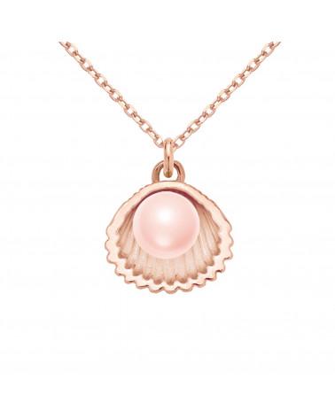 Bransoletka z różowego złota z mopsem