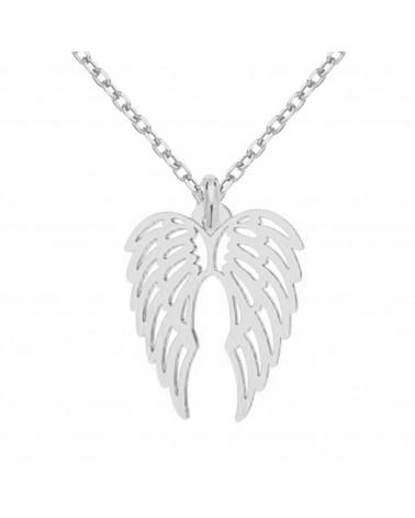 Srebrny naszyjnik ze skrzydełkami