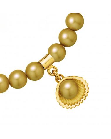 Naszyjnik z kotem z różowego złota