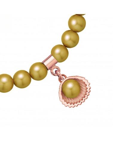 Naszyjnik z wiewiórką z różowego złota
