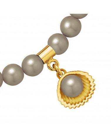 Złoty naszyjnik ze słowikiem