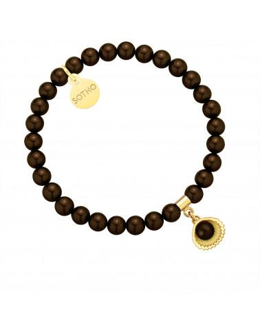 Naszyjnik z niedźwiedziem z różowego złota