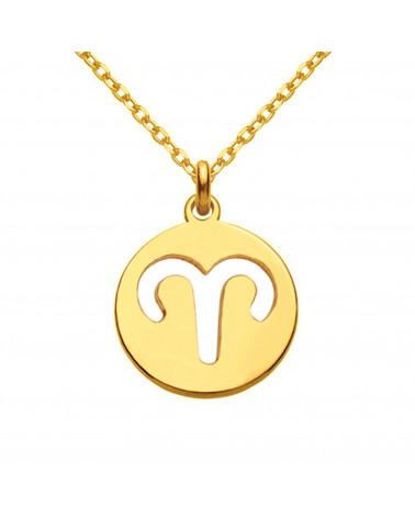 Złota bransoletka z rozetką i łososiowym kryształem SWAROVSKI® CRYSTAL