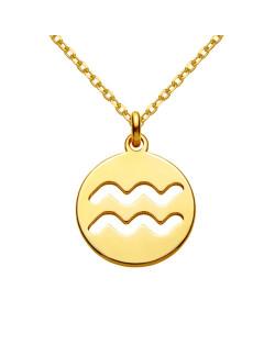 Złoty naszyjnik z kryształową ręką Fatimy SWAROVSKI® CRYSTAL
