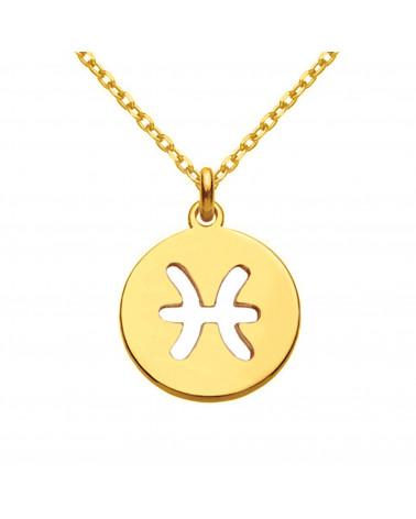 Naszyjnik z różowego złota z kryształową ręką Fatimy SWAROVSKI® CRYSTAL
