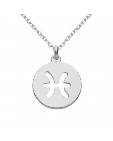 Srebrny naszyjnik z kryształową ręką Fatimy SWAROVSKI® CRYSTAL