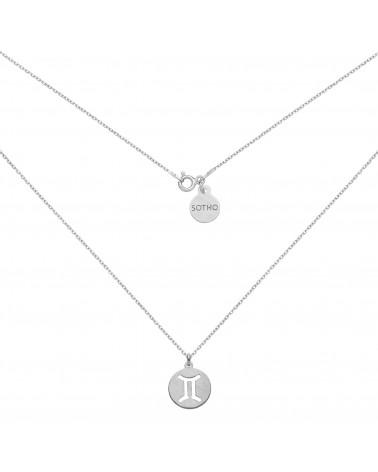 Granatowa bransoletka z pereł SWAROVSKI® CRYSTAL ze złotą rozetką