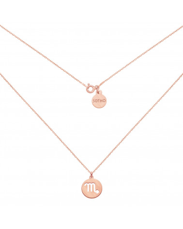Srebrny naszyjnik z rozetką i kryształami SWAROVSKI® CRYSTAL