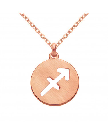 Kolczyki z różowego złota z rozetką i bezbarwnym kryształem SWAROVSKI® CRYSTAL
