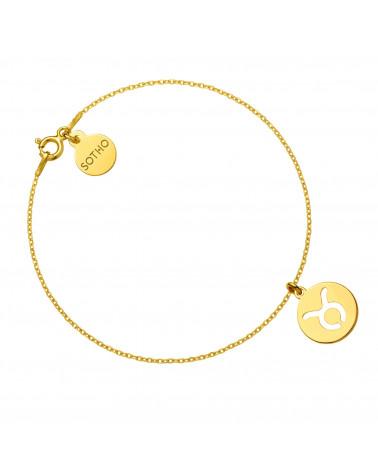 Kolczyki z różowego złota z rozetką i granatową perłą SWAROVSKI® CRYSTAL