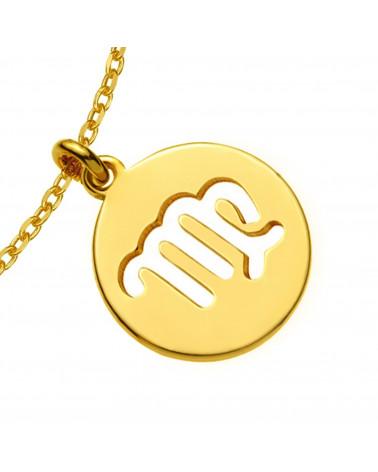 Kolczyki z różowego złota z rozetką i niebieską perłą SWAROVSKI® CRYSTAL