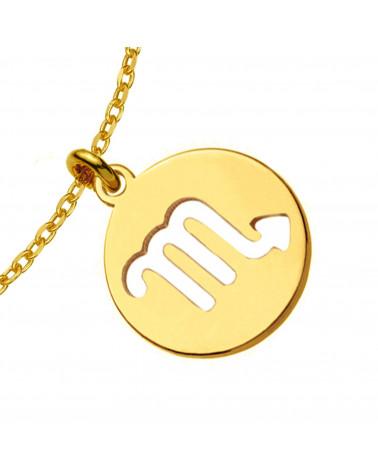 Złote kolczyki z rozetką i opalizującą perłą SWAROVSKI® CRYSTAL
