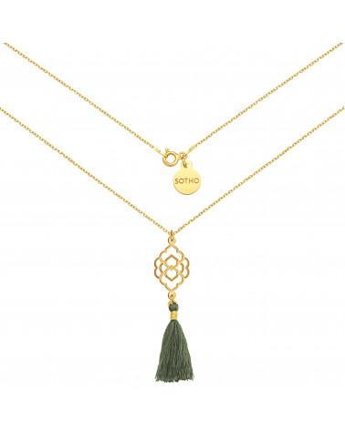 Kolczyki liście laurowe z różowego złota