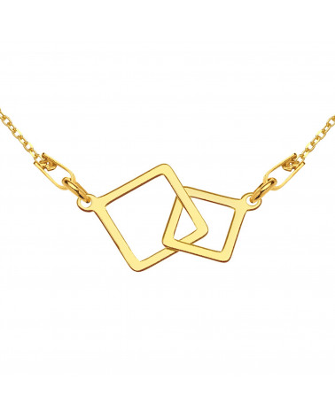 Bransoletka z rozetkami i kryształami SWAROVSKI® CRYSTAL z różowego złota