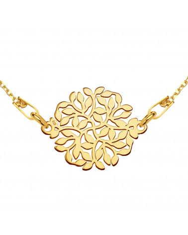 Złota bransoletka zdobiona złotym skarabeuszem SWAROVSKI® CRYSTAL
