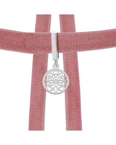 Naszyjnik z różowego złota z konstelacją Wodnika