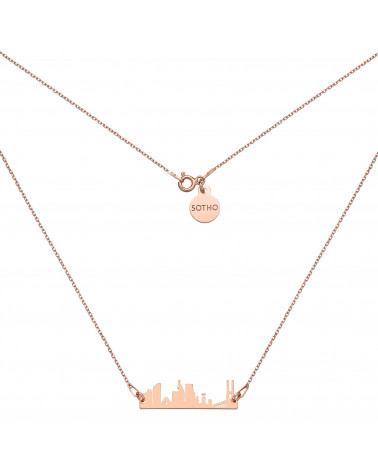 Naszyjnik z różowego złota Lisbona