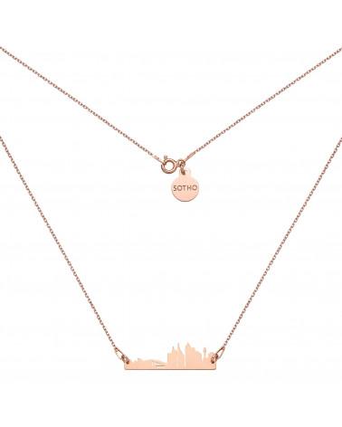 Naszyjnik z różowego złota Sydney