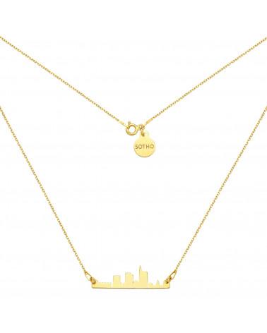 Złoty naszyjnik Mediolan