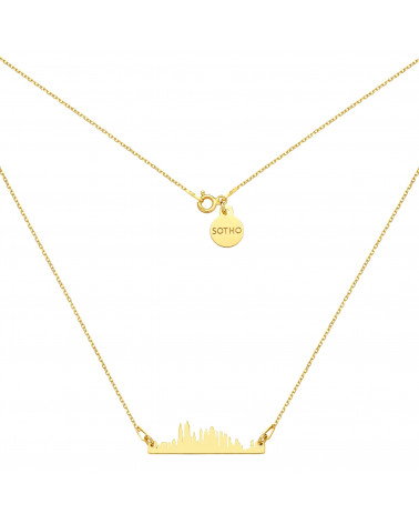 Bransoletka z pereł SWAROVSKI® CRYSTAL w kolorze Tahitian-look ze srebrną muszelką