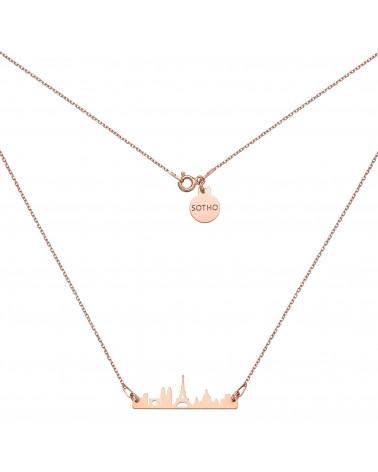 Naszyjnik z różowego złota Paryż