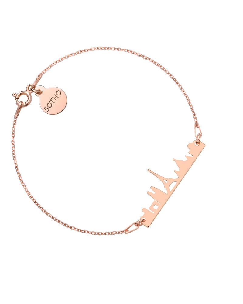 Bransoletka z różowego złota Paryż