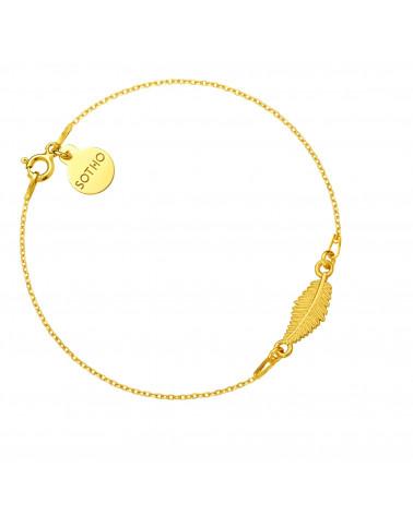 Złoty naszyjnik z muszelką i perłą SWAROVSKI® CRYSTAL w kolorze Pastel Green