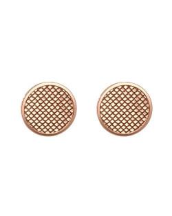 Bladoróżowa bransoletka kwarc złoty fasetowany hematyt złote kryształy SWAROVSKI® ELEMENTS